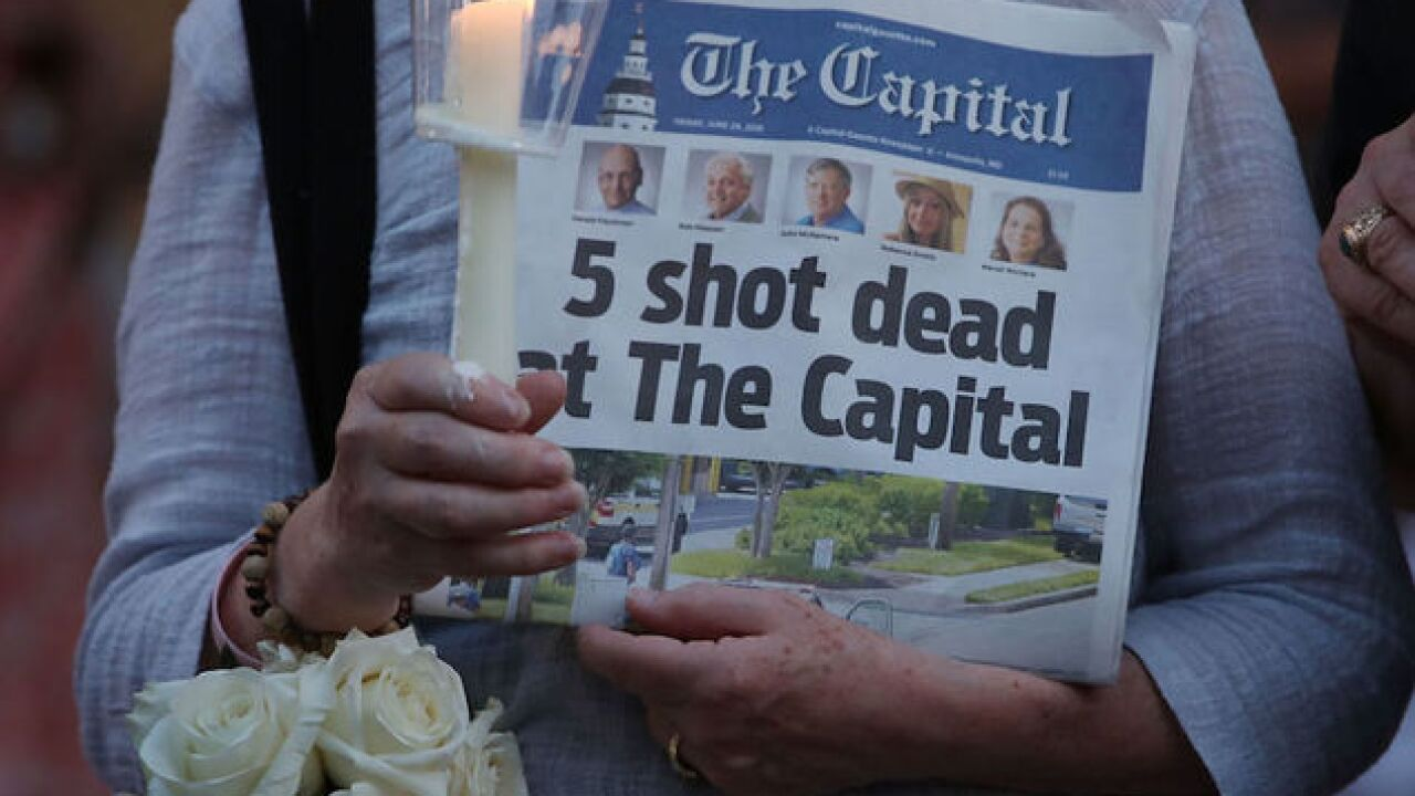 Two assignments for Capital Gazette journalists affected by shooting: healing and reporting
