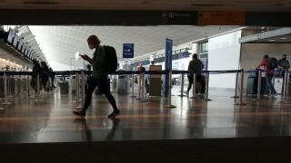 Virus Outbreak Colorado Airport travel