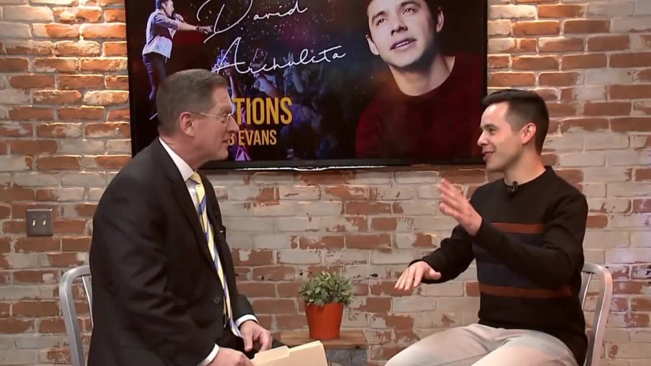3 Questions with Bob Evans: David Archuleta