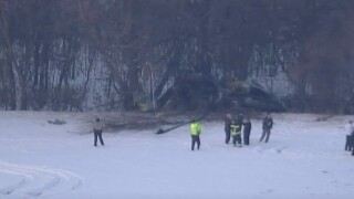Minnesota Governor Tim Walz says three National Guard soldiers were killed in a Black Hawk helicopter crash on Dec. 5, 2019.