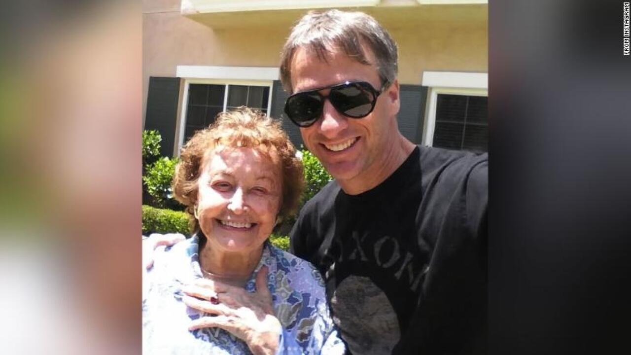 Tony Hawk announces his mother has died after a long battle with Alzheimer's