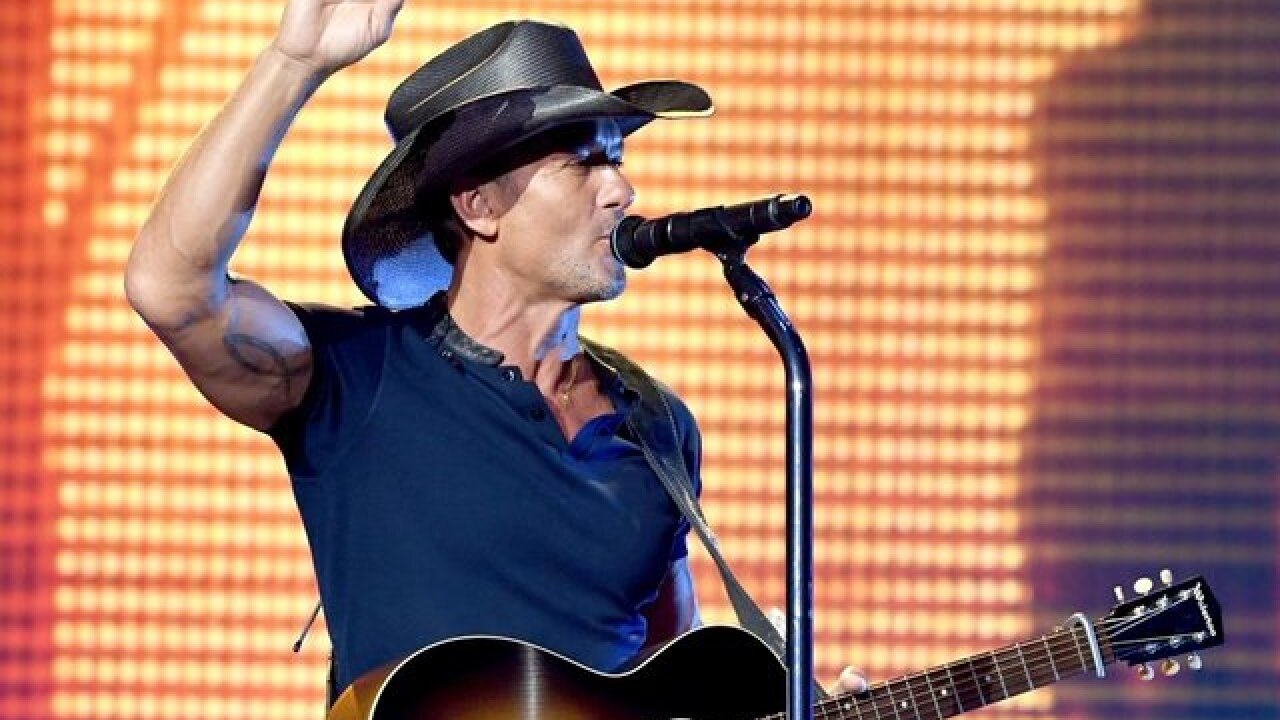 Tim McGraw, Jake Owen join the list of headliners to perform at Country Thunder Wisconsin 2019
