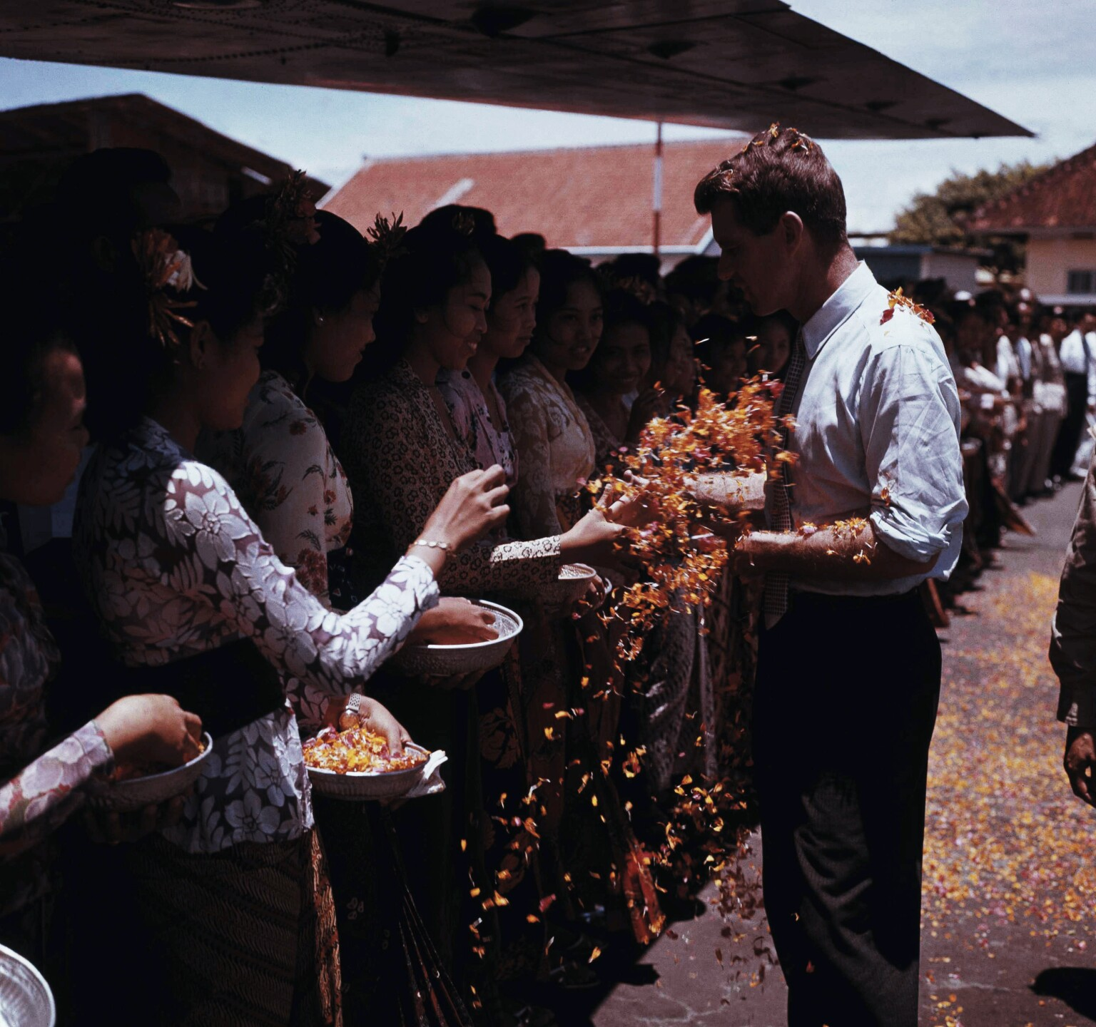 RFK In Indonesia 1962