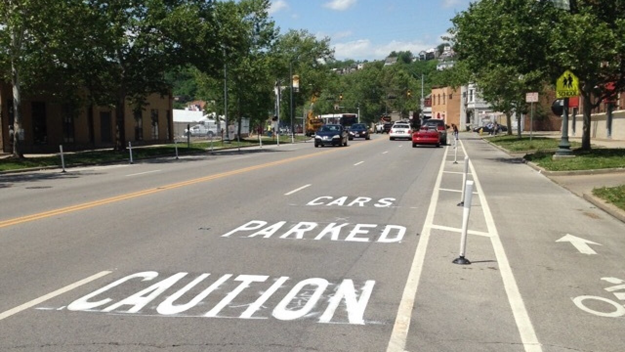 City recalls Central Pkwy bike lane crash report