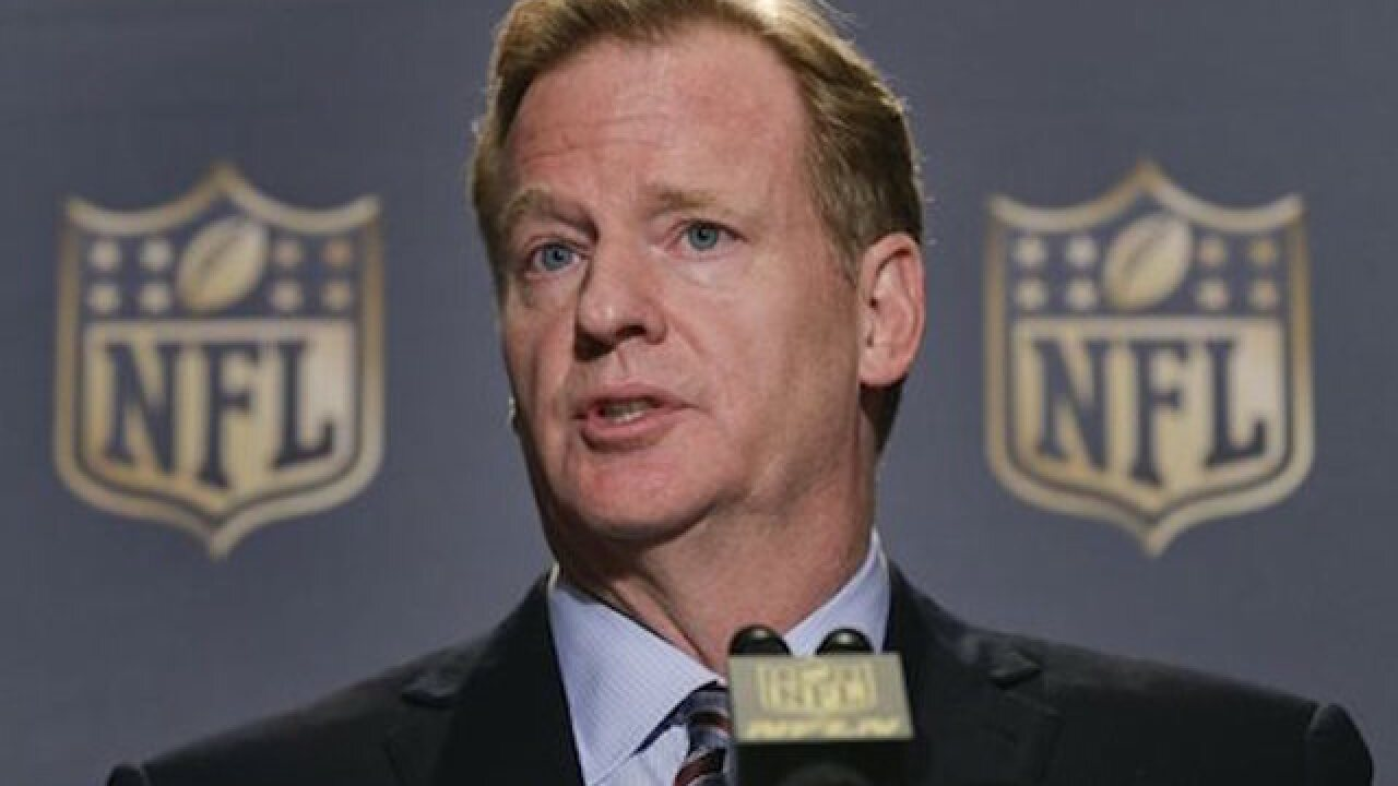 NFL's Goodell earned $34M in 2014