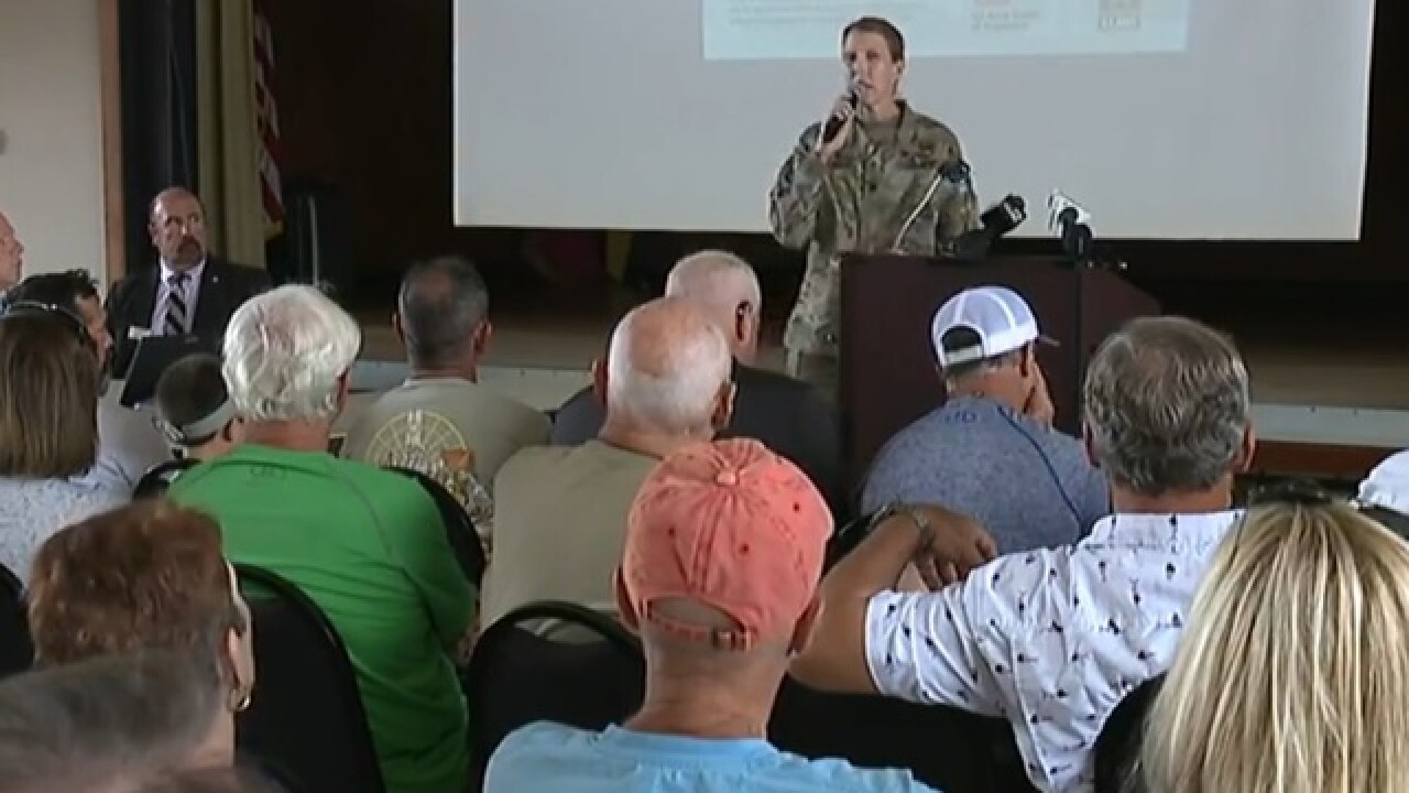 Army Corps of Engineers talk water in Cape Coral