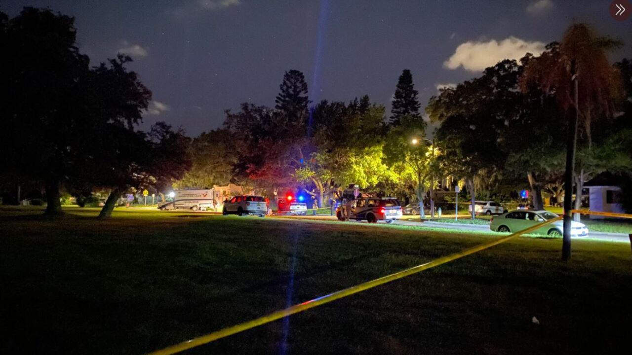 St Pete Death investigation.JPG