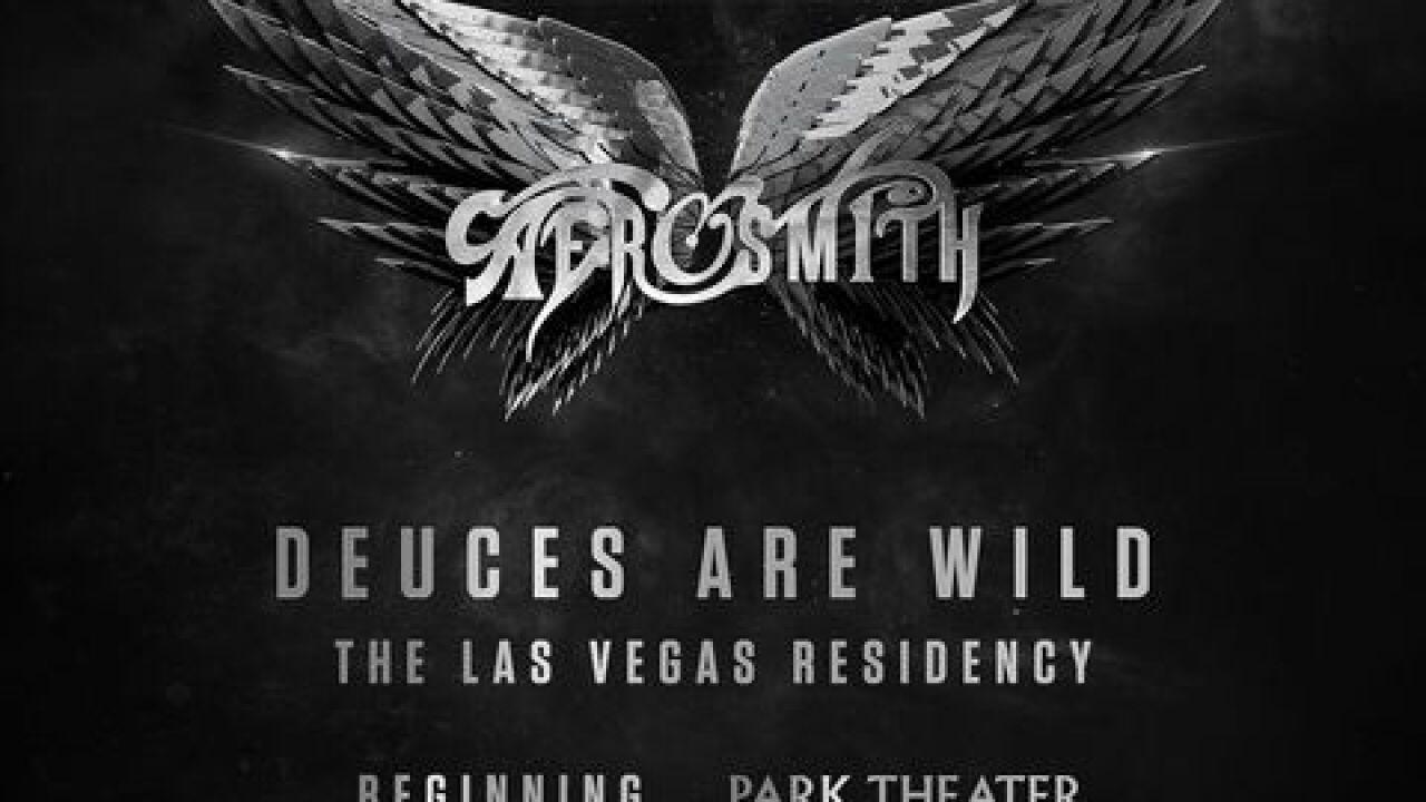 Aerosmith residency announced for Las Vegas