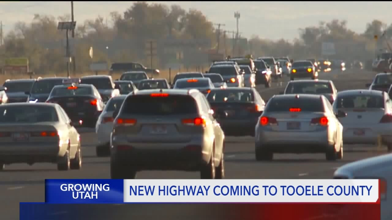 UDOT hopes new highway near Tooele will ease traffic problems