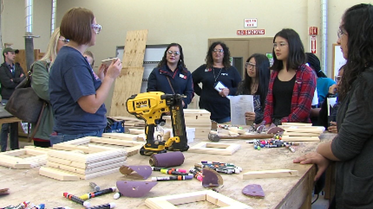 TSTC inspire young women for 'Women in Technology' day