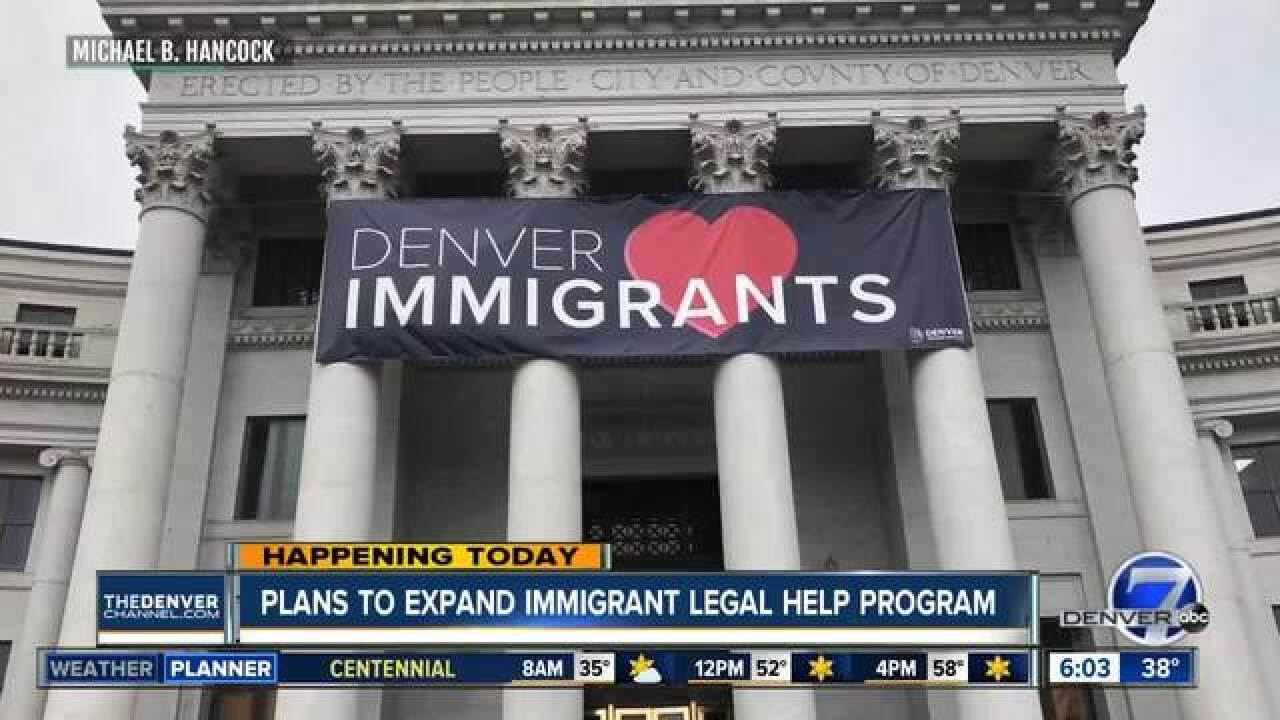 Mayor to expand immigration legal help program