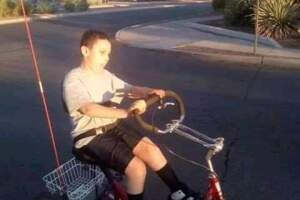 Bike stolen from boy in Tucson with cerebral palsy