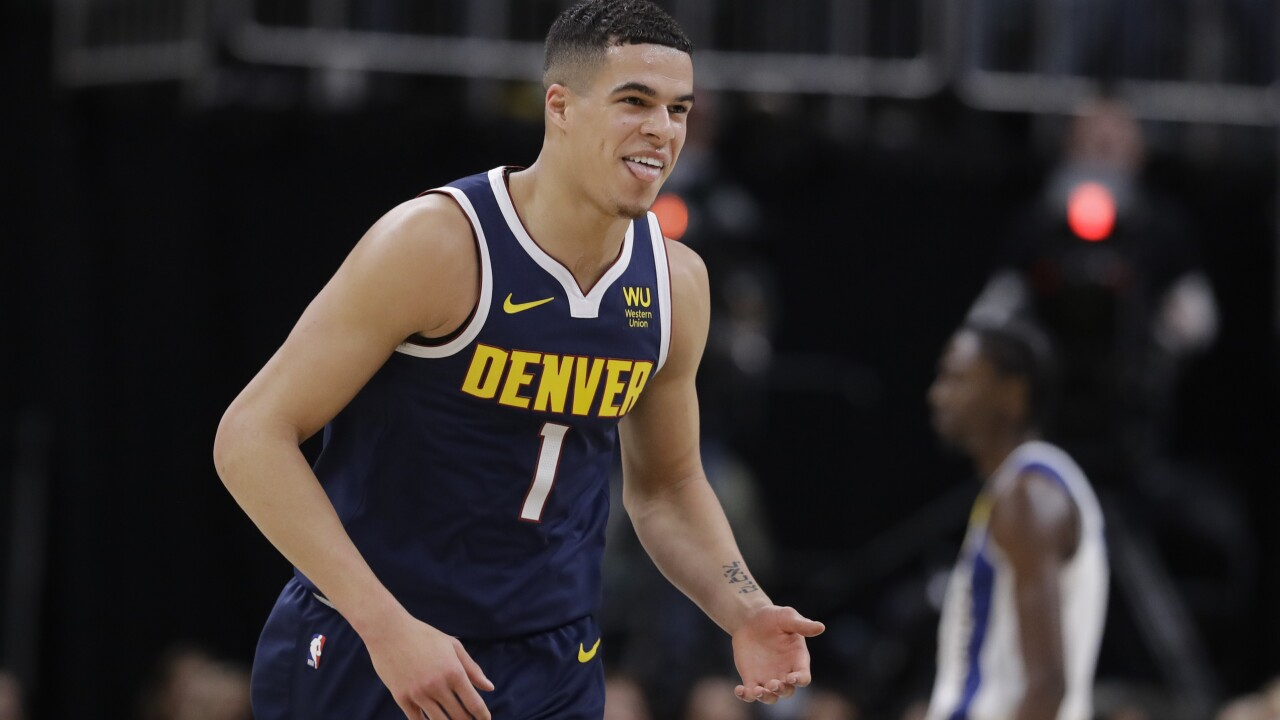 Nuggets use second-half rally to win at Indiana, 124-116