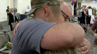 National Guard soldiers return home to AZ - 8-21-19