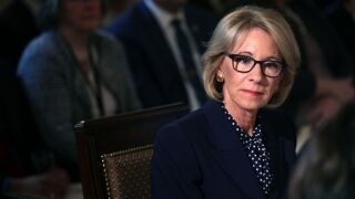 Betsy DeVos faces new lawsuit over student debt forgiveness
