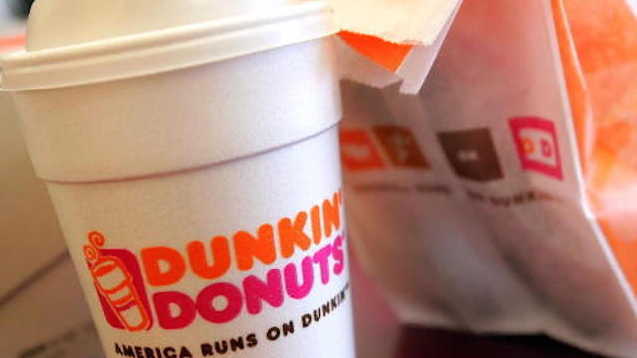 Score free coffee at Dunkin' Donuts