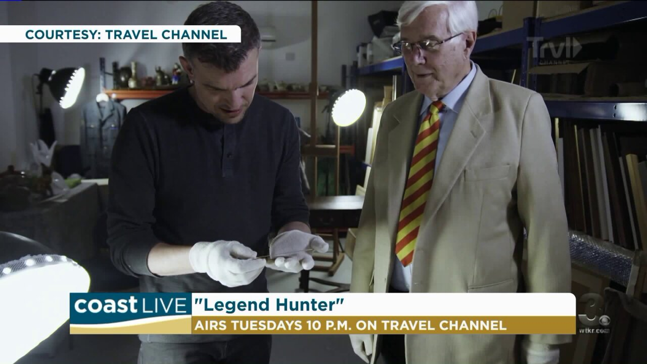 Famous crimes, mysteries and myths with explorer Pat Spain on CoastLive
