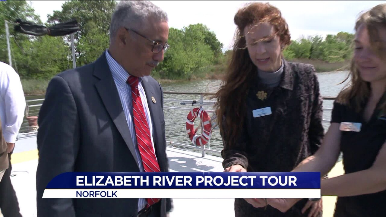 Congressman Scott meets with Elizabeth River Project to discuss impact of proposed EPA budgetcuts
