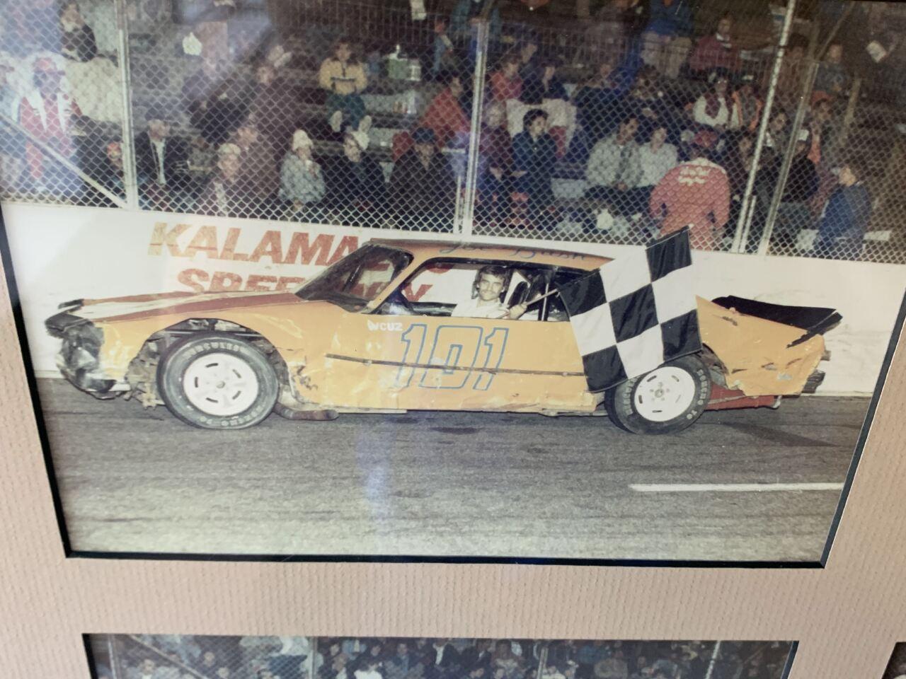 Joe Bush in his first race car