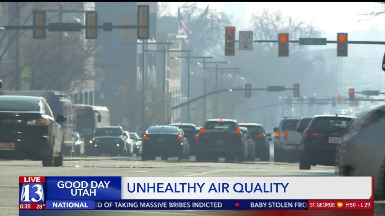 Officials share what residents can do to combat the unhealthy airquality