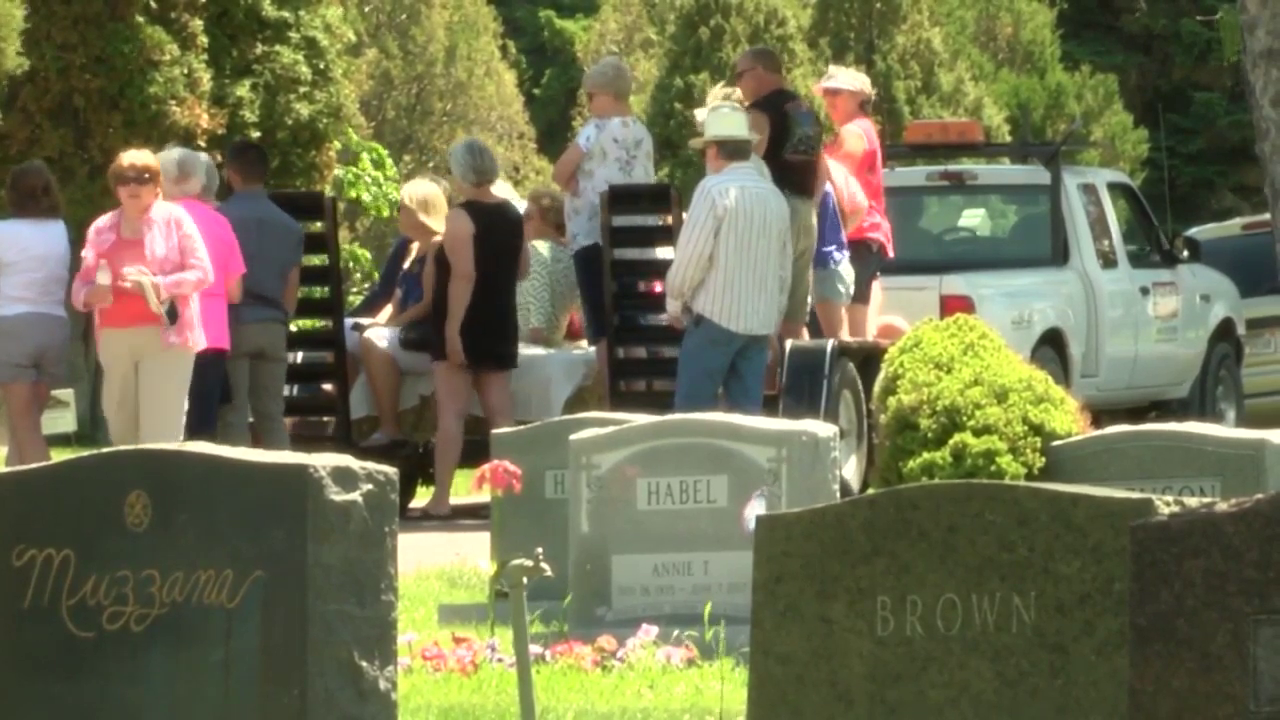 """""""Waking The Dead"""" at Highland Cemetery (2019 photo)"""