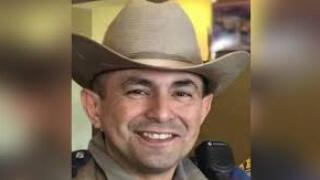 Wounded DPS trooper Moises Sanchez