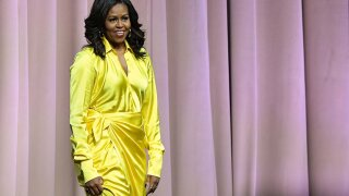 Michelle Obama nominated for a Grammy Award