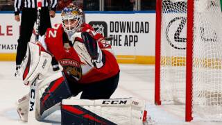 Sergei Bobrovsky, Panthers shut out Red Wings