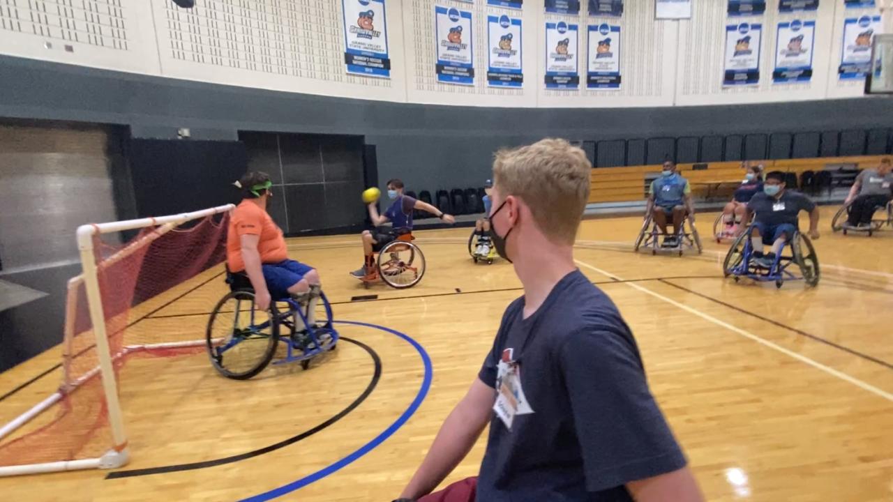Wheelchair hockey MFB