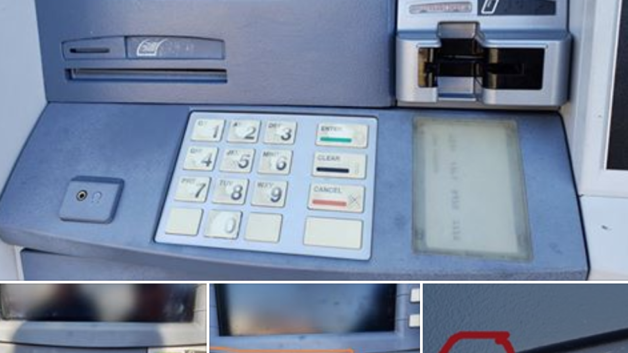 Police share photos of ATM skimmer found in Broadview Heights