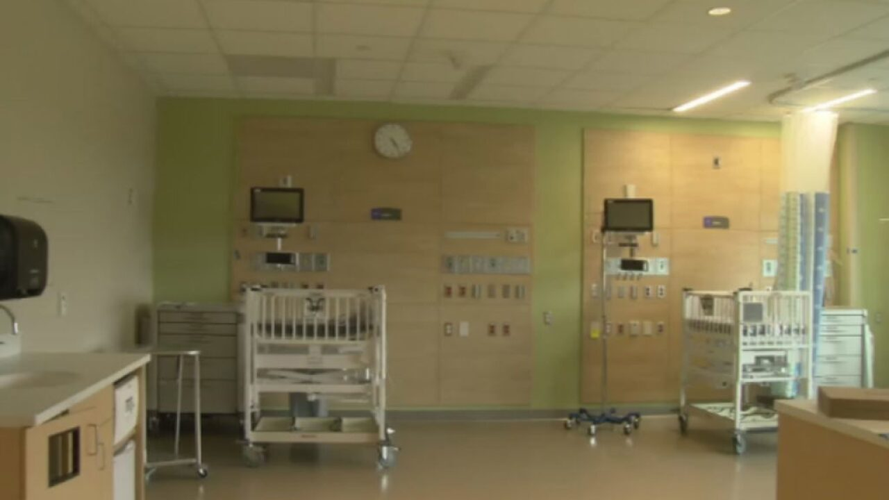 Construction finished on Children's Hospital