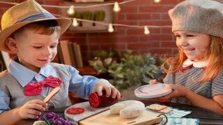 Fisher-Price Sells A Charcuterie Set For Kids With Fake Brie And Faux Marble Plates