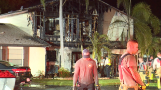 Cape Coral townhome fire
