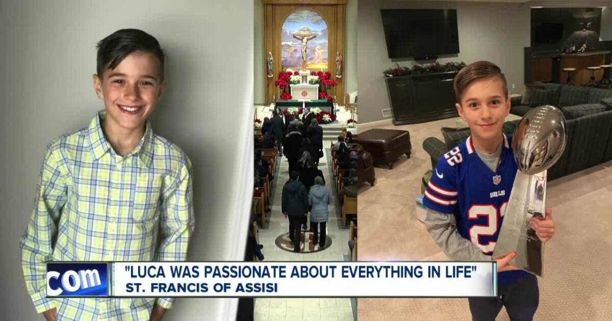 WNY boy who died from complications from the flu, laid to rest
