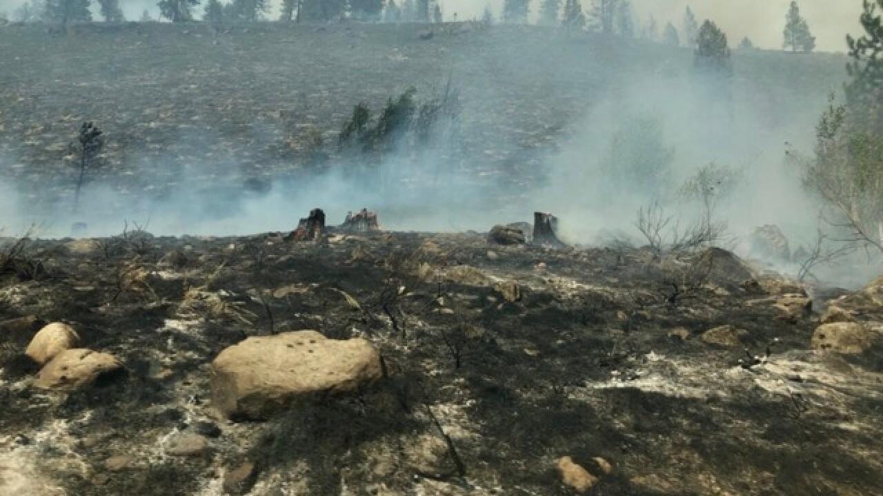 Evacuations underway for Idaho wildfire