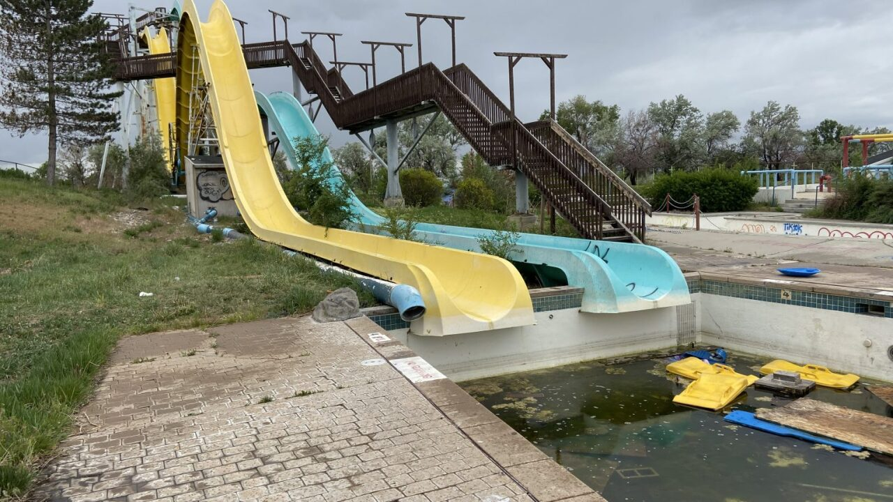 Vacant Water park