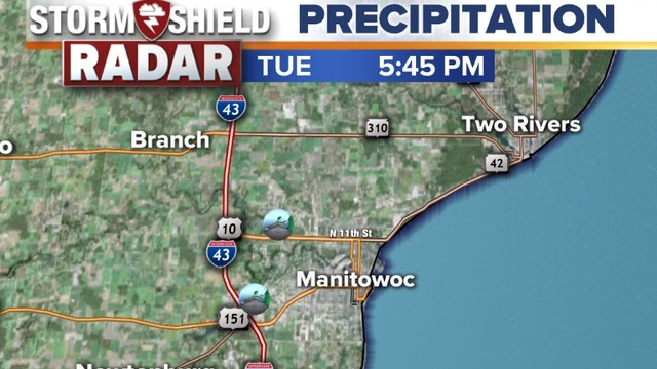 Wind damage reported at Manitowoc Fairgrounds