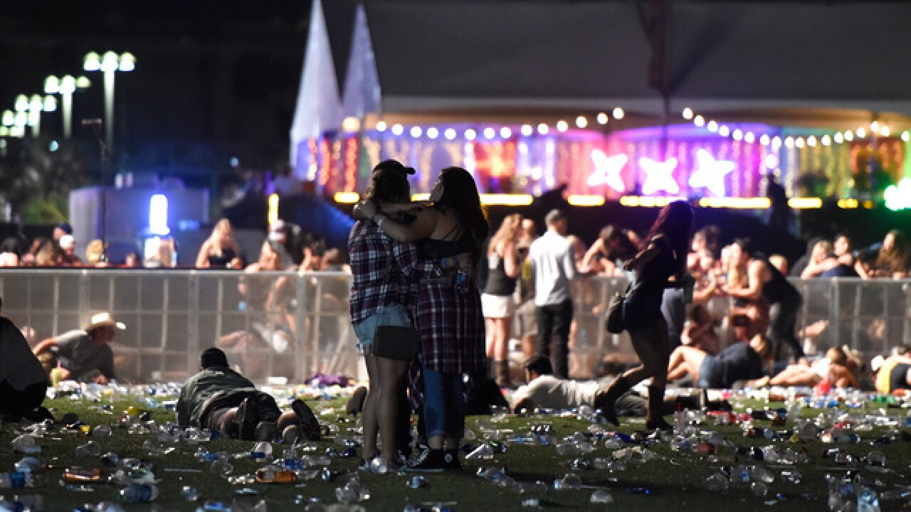 PHOTOS: Mass shooting at music festival on Las Vegas Strip