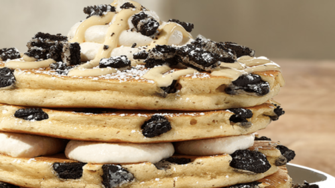 IHOP Is Serving Milk 'n' Cookie Pancakes This Fall
