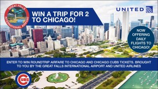 Great Falls Airport – Chicago Getaway Giveaway