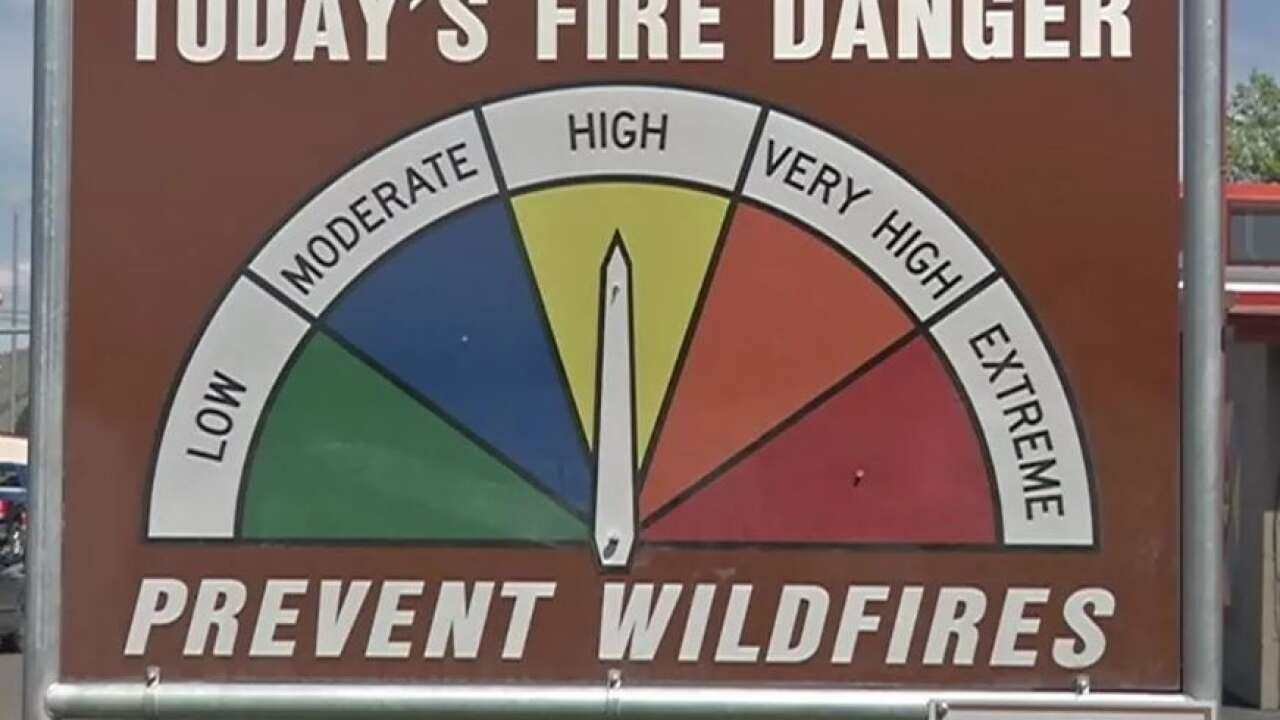 "Fire danger remains ""high"" in Missoula County"