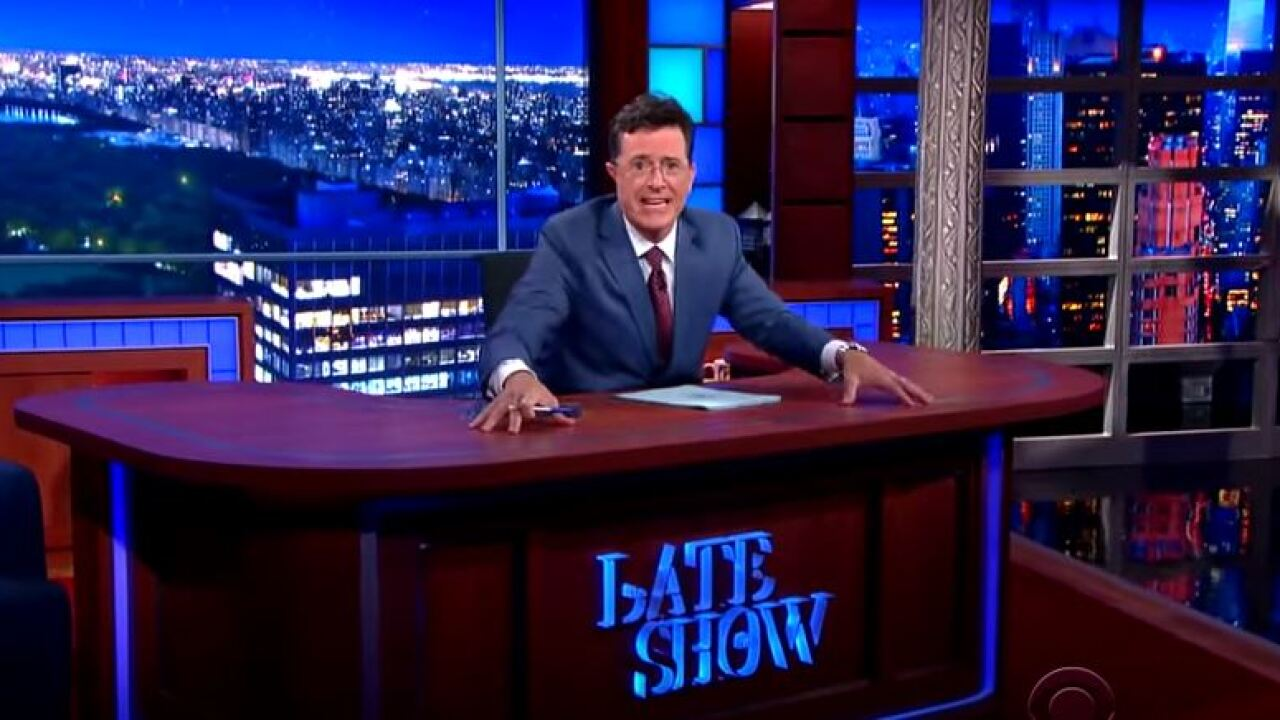 Colbert on Paris attacks: 'We end our show with a heavy heart'
