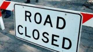 Stephensville Road is closed