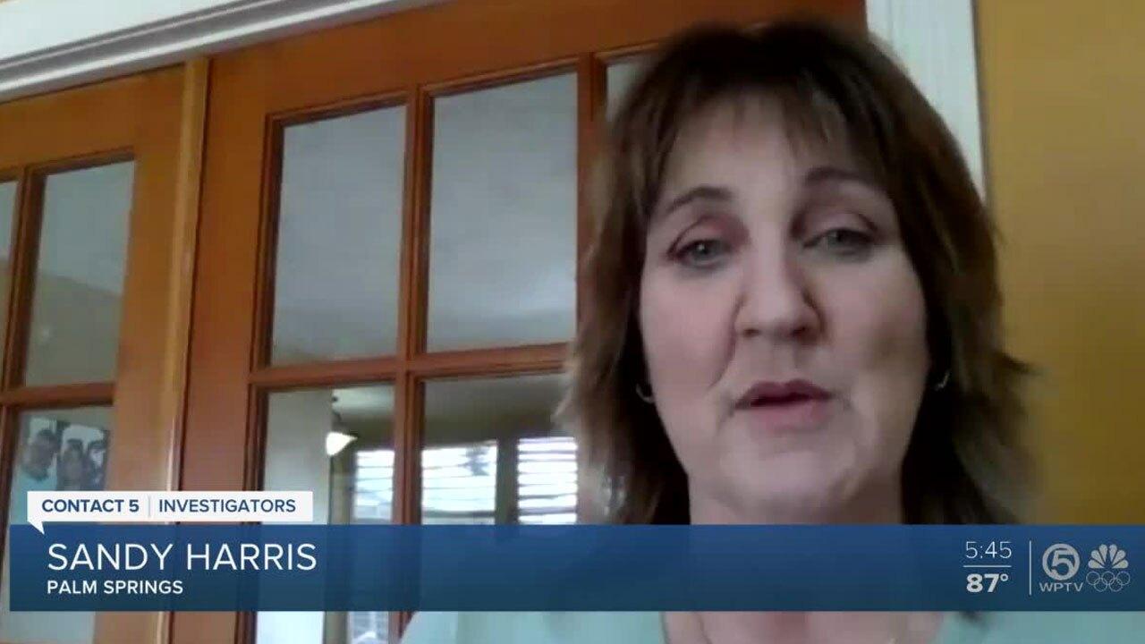 Sandy Harris, Guardians Credit Union customer