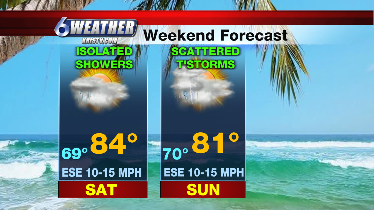 6WEATHER Weekend Forecast