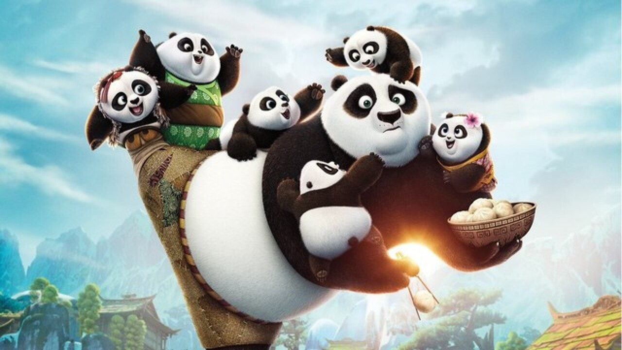 HOT ON HOME VIDEO: 'Kung Fu Panda 3,' 'Two Guys and a Girl' lead the week