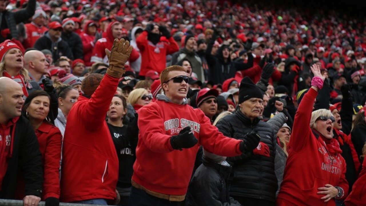 Ohio State/Michigan photo gallery