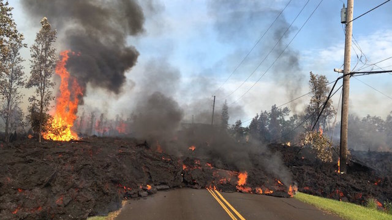 Hawaii volcano eruption destroys more than 2 dozen homes