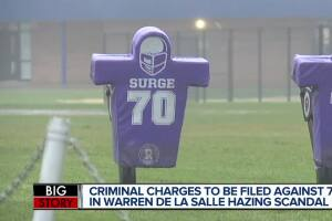 7 people will be charged in connection to alleged Warren De La Salle hazing case