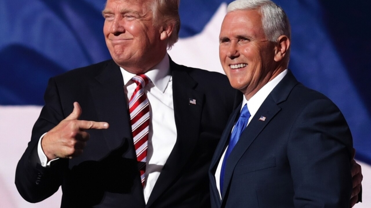 Mike Pence 'offended' by leaked Trump video, says he can't 'condone or defend' his words